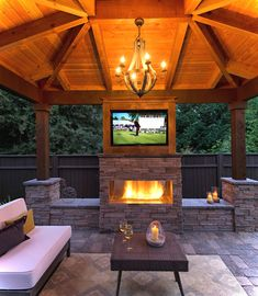 Has this ever happened to you that you didn't know where to put backyard gazebos in your backyard? Gazebos are […] Rustic Outdoor Fireplaces, Outdoor Fireplace Designs, Backyard Fireplace, Backyard Gazebo, Backyard Patio Designs, Backyard Layout, Backyard Ideas Pool, Pavillion Backyard, Stone Backyard