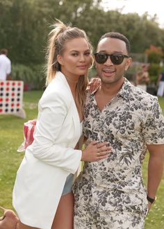 Pin for Later: Chrissy Teigen and John Legend Just Had the Fourth of July Celebration of Your Dreams