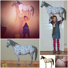 photobooth oncle alfred, le cheval de fifi brindacier