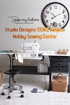 Studio Designs 13362 Eclipse for Hobby Sewing, best sewing cabinets, sewing cabinets for large machines, best sewing tables, best sewing table, best sewing machine table, best sewing machine cabinets, sewing table reviews, best portable sewing table, sewing machine table reviews, sewing tables, best sewing table for small spaces, professional sewing table, sewing cabinet