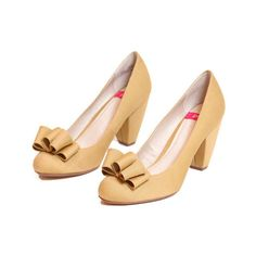 "Pink Studio ""Violet"" Honey Gold pumps ($57) ❤ liked on Polyvore featuring shoes, pumps, heels, обувь, cipele, women, gold heel shoes, chunky high heel shoes, high heel court shoes and chunky shoes"