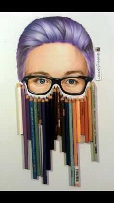 """Bitch this is Tyler Oakley. I dunno where all y'all are getting """"oh it's such original art."""" Bitch stop. It's Tyler Oakley"""