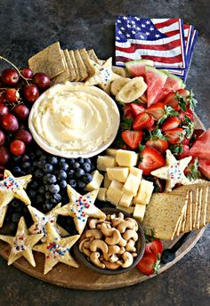 4th Of July Desserts, Fourth Of July Food, 4th Of July Celebration, 4th Of July Party, Patriotic Party, July 4th, Charcuterie Recipes, Charcuterie Platter, Charcuterie And Cheese Board
