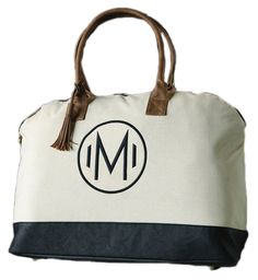 Mud Pie Chelsea Weekender Bag, L >>> Check out this great product. (This is an Amazon Affiliate link and I receive a commission for the sales)