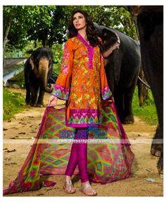 Designer Umar Sayeed Spring Summer Lawn Collection 2015