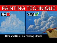 Do's and Don't on Painting Clouds by JM Lisondra - YouTube