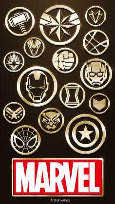 Marvel Logo, Marvel Avengers, Hero Marvel, Avengers Symbols, Marvel Films, Marvel Memes, Marvel Characters, Marvel Cinematic, Marvel Tattoos