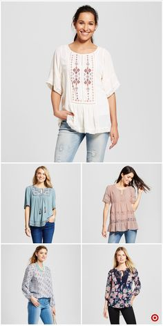 Shop Target for peasant tops you will love at great low prices. Free shipping on orders of $35+ or free same-day pick-up in store.
