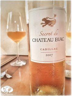 2007 Chateau Biac Cadillac Botrytis Sweet Dessert Wine Bordeaux front label Social Vignerons review