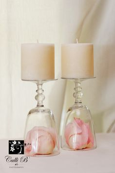 Quirky candleholders