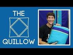 Quillows! Fast, FUN, Multi Functional, Great for the Car, & Office or Couch. - http://www.keepnuinstitchesquilting.com/quillows-fast-fun-multi-functional-great-for-the-car-office-or-couch/