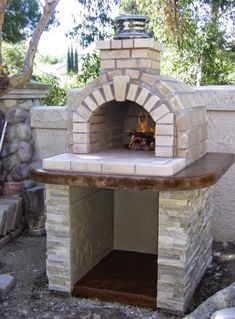 brick wood oven plans