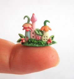 Miniature Fairy Blossom House! so cute
