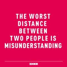 ZOOKIE, wisdoms, quotes, love, misunderstanding