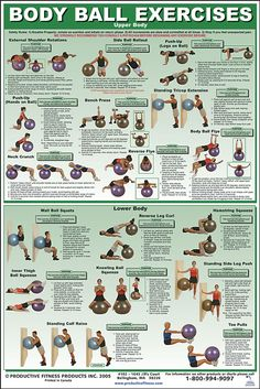 Body ball exercises upper and lower body workout, Go To www.likegossip.com to get more Gossip News!