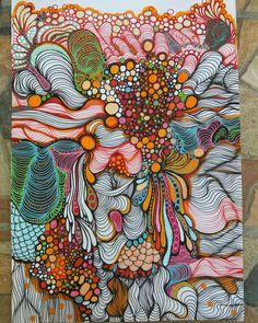 and crafts arts crafts crafts fun arts and crafts c. and crafts arts crafts crafts fun arts and crafts crafts sensational Sharpie crafts that Zentangle Drawings, Art Drawings, Doodles Zentangles, Arte Sharpie, Sharpie Crafts, Painting Inspiration, Art Inspo, Pintura Graffiti, Tangle Art