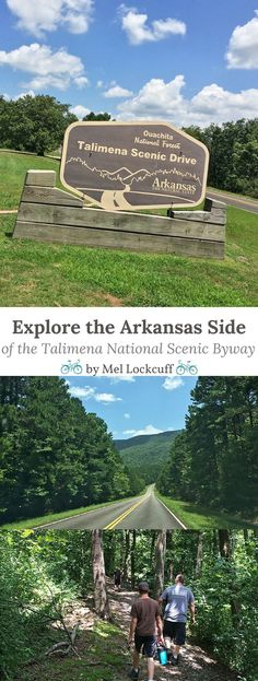 Travel and explore the Arkansas side of the Talimena National Scenic Byway that stretches from Oklahoma into Arkansas. One of our family's favorite road trips and a great place for camping!