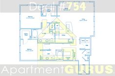 Beds- 2 Baths - 2  Sq. Ft. 1498  Starting Price - $2100