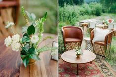 Modern Cocktail Lounge for this Aspen Wedding. Photos by Rachel Havel