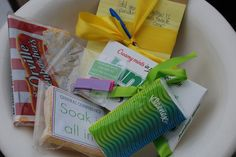 Great ideas for visiting teaching gifts for Conference