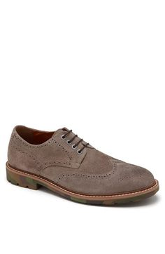 Kenneth Cole Reaction 'Clip-Per' Suede Wingtip available at #Nordstrom