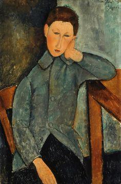 Modigliani, The Boy, 1919