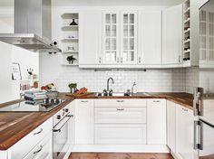 Cocina estilo nórdico / Pequeñas reformas que hacen milagros #hogarhabitissimo
