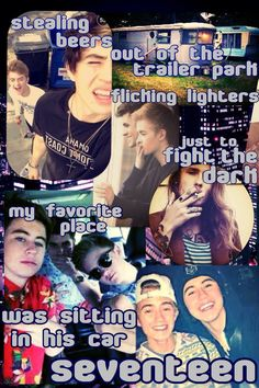 "NiQuito text fanfic ""17"" Avril lavigne (just reminded me of him and all his friends)(and yes I used Nash Grier)"