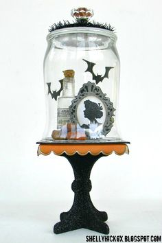 Stamptramp: Halloween Bell Jar