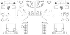 Biblioteca de desenhos arquitetônicos em DWG disponíveis para download,via archweb