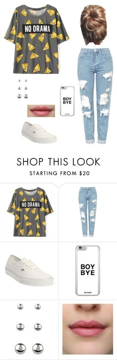 """No Drama"" by laurenbrgr ❤ liked on Polyvore featuring Topshop, Vans and Accessorize"