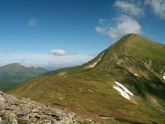 Hoverla...the highest point in Ukraine.Yes, we climbed this mountain in 2007!