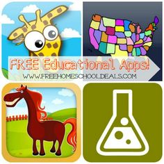 Content filed under the Free Educational Apps category. Learning Apps, Learning Activities, Kids Learning, Homeschool Apps, Homeschooling, Free Educational Apps, School Resources, Kids Education, Lightbulb