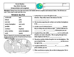 Printables Latitude And Longitude Worksheets 6th Grade pinterest the worlds catalog of ideas power point lesson on latitude and longitude world stu