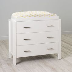 Shop Uptown 3-Drawer Changing Table (White).  Our Uptown 3-Drawer Changing Table (white) features clean, crisp lines for a modern look.  Shop changing tables and nursery furniture today.