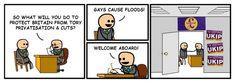 Ukip, Homophobia, Cartoon