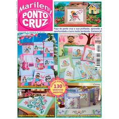Revista Marileny Ponto Cruz 42 / Magazine Marileny Cross Stitch 42 visit www.marileny.net