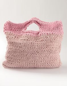 style, knitted bags, zigazig shopper, knit bag, wool