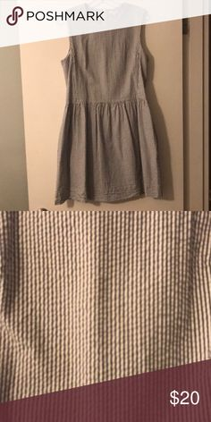 GAP seersucker dress Has pockets GAP Dresses