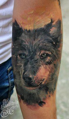 Wolf done by Biex