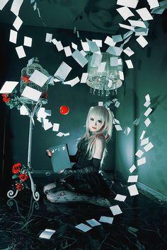 Misa Amane - Death Note / Cosplay / Manga Anime / Gothic Girl // ♥ More at: https://www.pinterest.com/lDarkWonderland/
