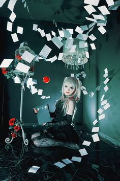 Misa Amane - Death Note / Cosplay / Manga Anime / Gothic Girl // ♥ More at: https://www.pinterest.com/lDarkWonderland/