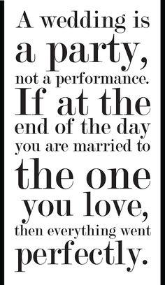 Wedding advice :) love it!