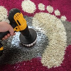 Power Scrubber Drill Brush Kit Scrubbing by hand is such a pain! It can lead to sore wrists, sore fi