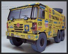 Dakar 2007 - Loprais Tatra Team Truck Paper Model Free Download - http://www.papercraftsquare.com/dakar-2007-loprais-tatra-team-truck-paper-model-free-download.html