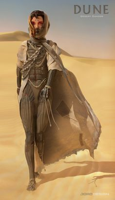/r/ImaginaryArrakis - Artwork from the Dune series. Arte Sci Fi, Sci Fi Art, Dune Characters, Dune Film, Desert Clothing, Dune Series, Dune Frank Herbert, Character Concept, Character Design