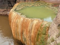 Pumpkin Spring,  Arsenic Pool in the Grand Canyon