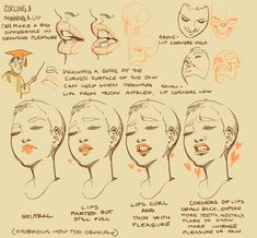 """""""Wanting to try out making tutorials or writing down my thoughts on drawing because I am fundamentally a nerd about this stuff. Let me know if it's the sorta thing you might like to see more of! Digital Painting Tutorials, Digital Art Tutorial, Art Tutorials, Drawing Reference Poses, Anatomy Reference, Design Reference, Anatomy Drawing, Anatomy Art, Drawing Techniques"""
