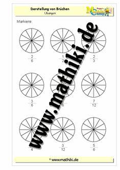 17 best Bruchrechnung images on Pinterest | Worksheets, Math ...