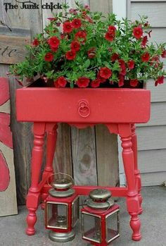 Unique and Fresh Farmhouse Thrift Store Makeovers - The Cottage Market - Happy Monday everyone! We are back with another Collection of Fun and Fresh Farmhouse Thrift Store - Outdoor Projects, Garden Projects, Diy Projects, Outdoor Decor, Garden Ideas, Patio Ideas, Porch Ideas, Shutter Projects, Outdoor Stuff